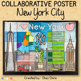 New York City, a collaborative poster