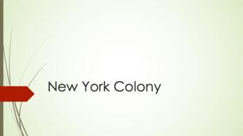 New York Colony PowerPoint