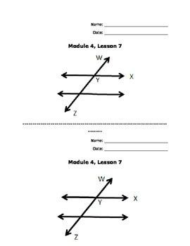 New York Common Core Math Grade 4: Module 4, Lesson 7 Student Image