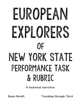 New York Explorers Performance Task and Rubric