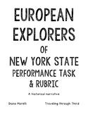 New York Explorers Performance Task and Rubric