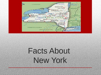 New York Facts