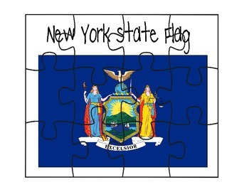 New York Flag Puzzle