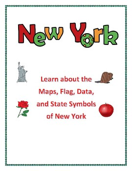 New York Geography Maps, Flag and Data Analysis Assessment and State Report