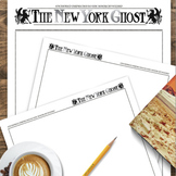 New York Ghost Newspaper Template PDF