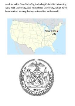 New York Handout