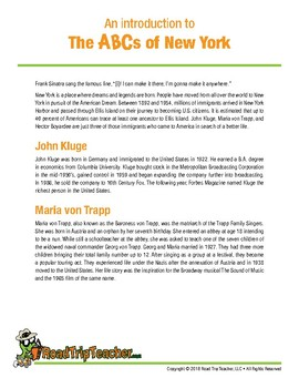 New York Handwriting Printables - Cursive Edition
