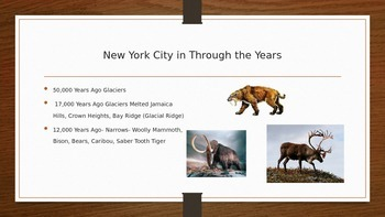 New York History Course Powerpoint- Prehistory & Native American Experience