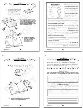 New York History Interactive Notebook Mini Unit + AUDIO!
