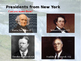 New York History PowerPoint - Part II
