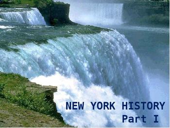 New York History PowerPoint - Part I