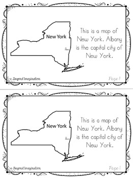 New York | State Study | 56 Pages for Differentiated Learning + Bonus Pages