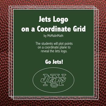 New York Jets Logo on the Coordinate Plane