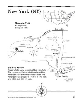 New York (Map & Facts)