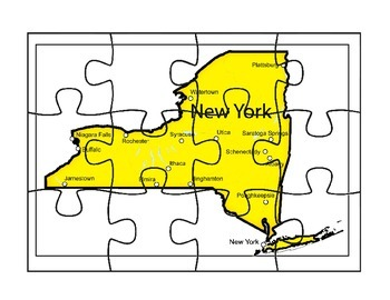 New York Map Puzzle