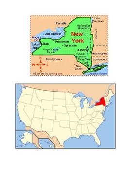 New York Map Scavenger Hunt
