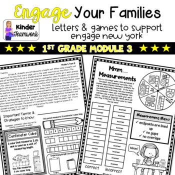 ENY Math Letters and Games: First Grade, Module 3