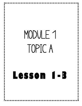 Eureka Math - Kindergarten - Fluency Activity Cards - Module 1