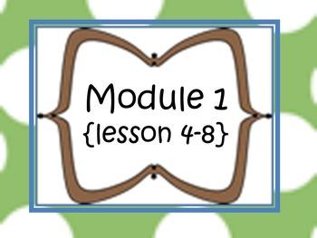 New York Math Modules-5th grade {module 1; lessons 4-8-supplemental tasks}