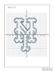 New York Mets Logo on the Coordinate Plane