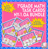New York NY-1.OA #1-8 Math Task Cards BUNDLE - 200 Task Cards