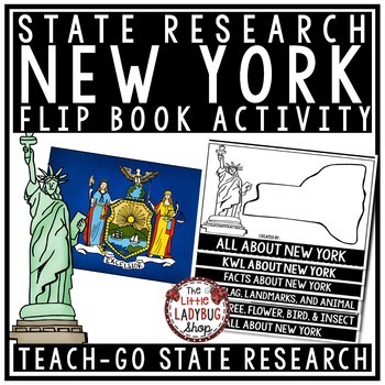 New York State Flip Book- New York Research Symbols