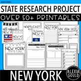 New York Research Project | 50+ Activities | NO PREP | Distance Learning