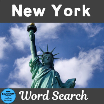 New York Word Search