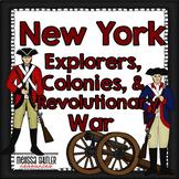 New York Social Studies Grade 4- Explorers, Colony, and Revolution