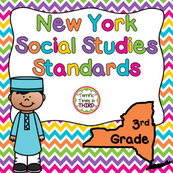 New York Social Studies Standards for 3rd Grade