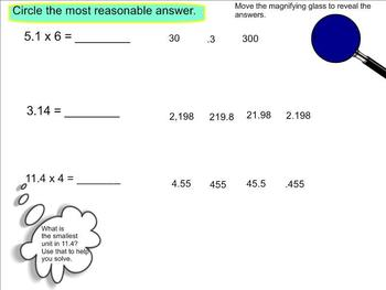 New York State 5th Grade Math Module 1 Lesson 12 Smart Notebook File