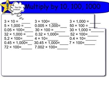 New York State 5th Grade Math Module 2 Lesson 1 Smart Note