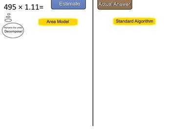 New York State 5th Grade Math Module 2 Lesson 12 Smart Notebook File