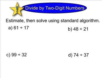 New York State 5th Grade Math Module 2 Lesson 21 Smart Notebook File