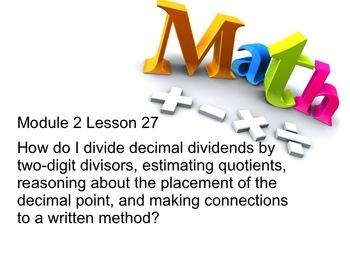 New York State 5th Grade Math Module 2 Lesson 27 Smart Notebook File