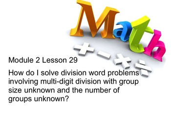 New York State 5th Grade Math Module 2 Lesson 29 Smart Notebook File