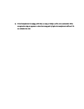 New York State 5th Grade Math Module 2 Mid-Module Review Document