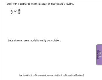 New York State 5th Grade Math Module 4 Lesson 21 Smart Notebook File