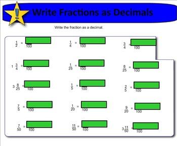 New York State 5th Grade Math Module 4 Lesson 25 Smart Notebook File