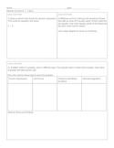 New York State 5th Grade Math Module 4 Lessons 1-5 Quick Quiz