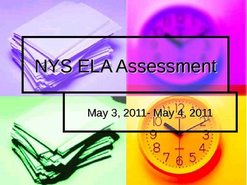 New York State 7th Grade ELA Overview PowerPoint
