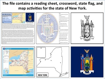 New York - State Activity Set