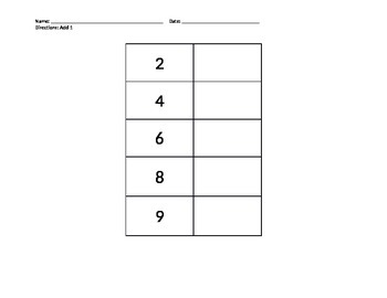 New York State Alternate Assessment  Math Worksheet