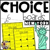 New York State Choice Board Distance Learning