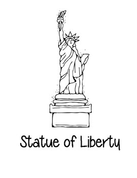 New York State Coloring Pages