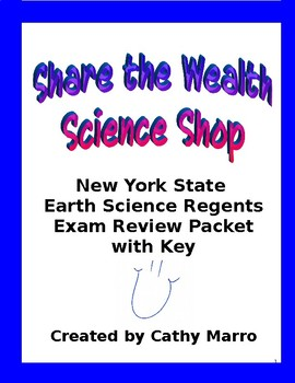 New York State Earth Science Regents Review Packet with Key