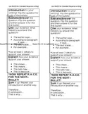 NYS New York State Extended Response RACES bookmark ELA Test Prep - editable