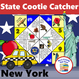 New York State Facts and Symbols Cootie Catcher Fortune Teller