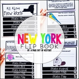 New York State Flipbook Interactive Activity for Social Studies