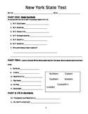 Fourth Grade New York State Geography & Natural Resources TEST
